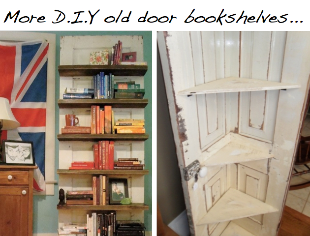 10 DIY Ideas To Give New Life Old Doors