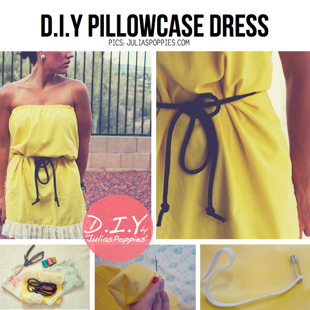 Pillowcase Pimpin\u0027 DIY Ideas & DIY Pillowcase Dress \u2014 Crafthubs pillowsntoast.com