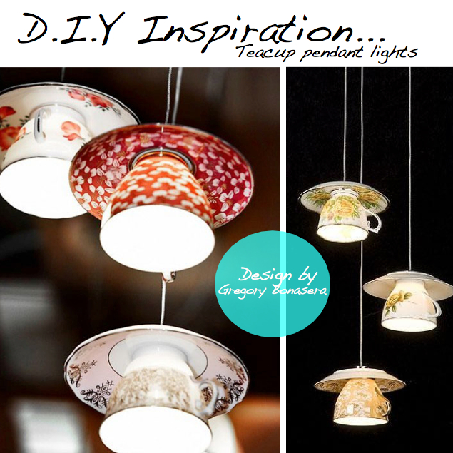 Pic Left Teacup Lamps With Teapot Lamp