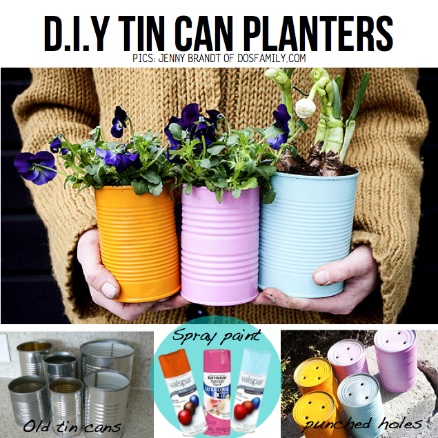 Mothers day diy 10 awesome diy gift ideas for Tin can diy ideas