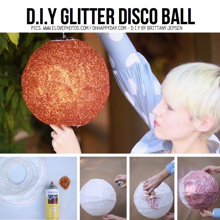 Diy for disco divas 10 diy ideas tutorials brittany solutioingenieria Image collections