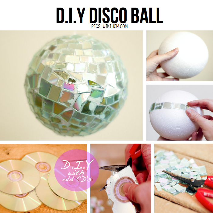 Diy for disco divas 10 diy ideas tutorials this diy disco ball solutioingenieria Image collections