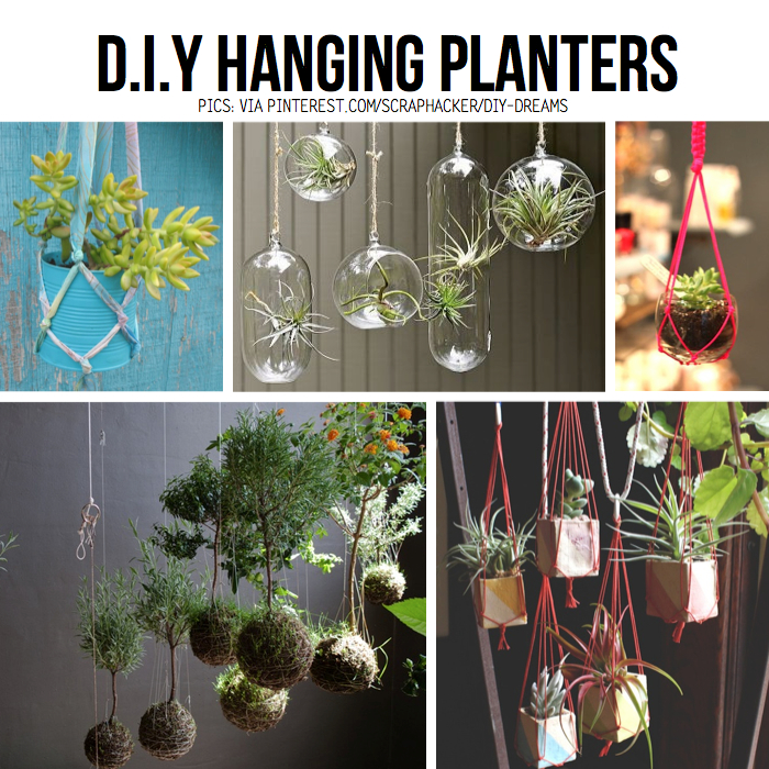 Hanging planter diy ideas