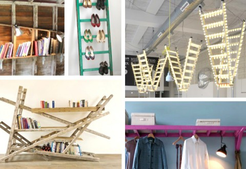 DIY Ladder Hacks Inspiration