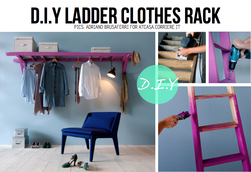 Beautiful D.I.Y Project Involving A Ladder ...