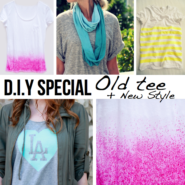 Drab to fab! 5 DIY ideas for t-shirt remakes