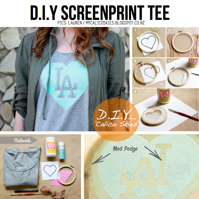 Drab to fab 5 diy ideas for t shirt remakes for Screen print tee shirts cheap