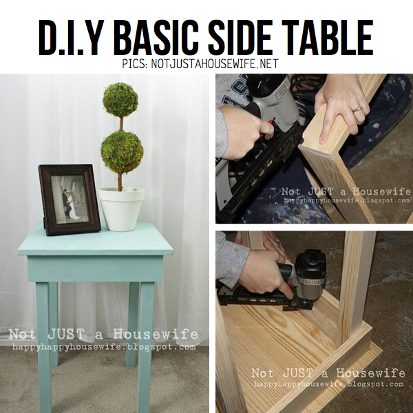 Diy side table with drawer value