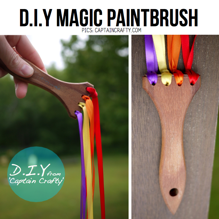 Magic DIY Paintbrush From Captain