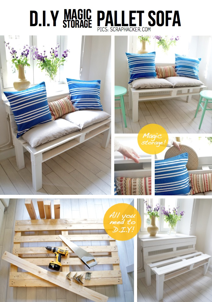 DIY Pallet Sofa Tutorial Easy 10 Step Guide