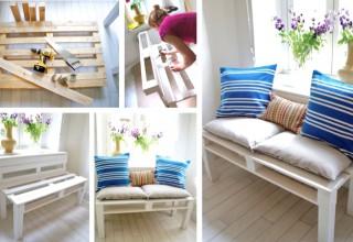 Pallet Sofa DIY