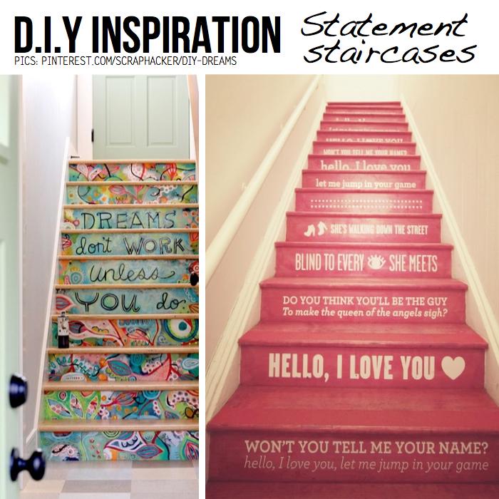 DIY Statement Staircases Hacky Ideas Handson Tutorials - Diy staircase designs