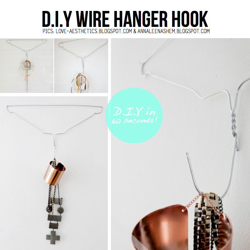 Hacky Hanger DIY - 10+ Crafty Ideas on how to repurpose old hangers