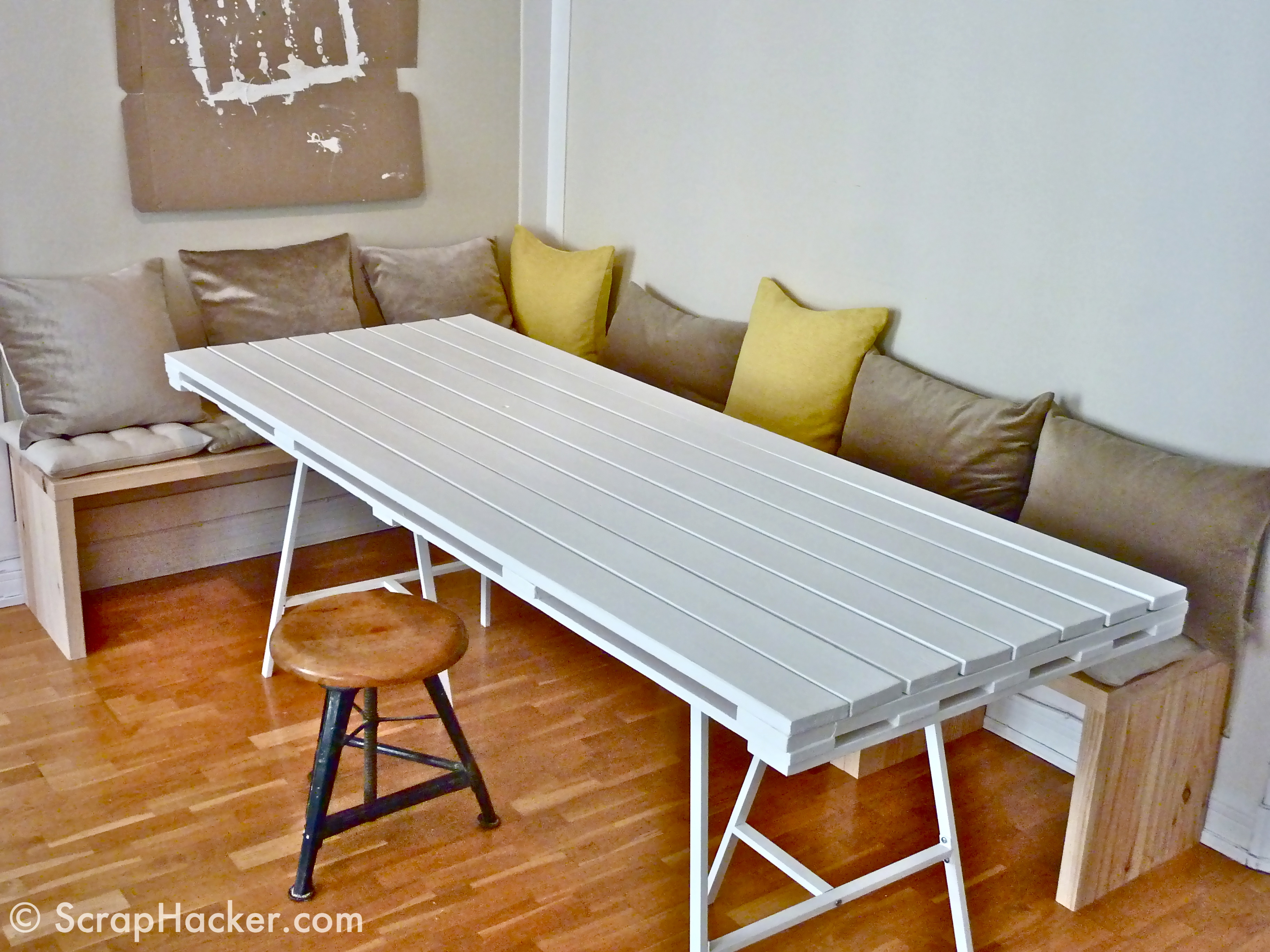 d.i.y pallet dining table - a 10-step tutorial! Creative Dining Tables