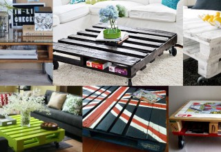 The best pallet coffee tables