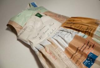 Paper Letter Dress by Jennifer Collier