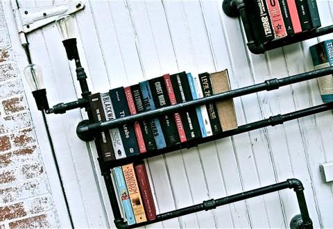 Pipe Shelves by Stella Bleu Designs