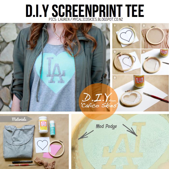 Diy tee shirt printing for Diy t shirt screen printing at home