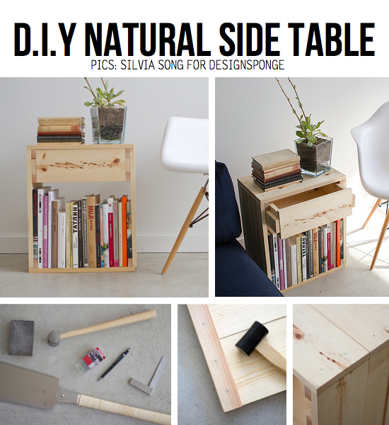 10 stylish diy side table ideas & tutorials Make Bedside Table